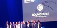 The members of the Round Table International board 2017-2018