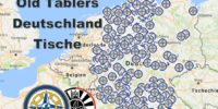 Germany map of all OT tables! with table details.