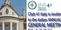 Italienisches AGM 2019 in Meran