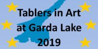 TABLERS IN ART AT LAKE GARDA JULY 2019 [Udo Nenning]