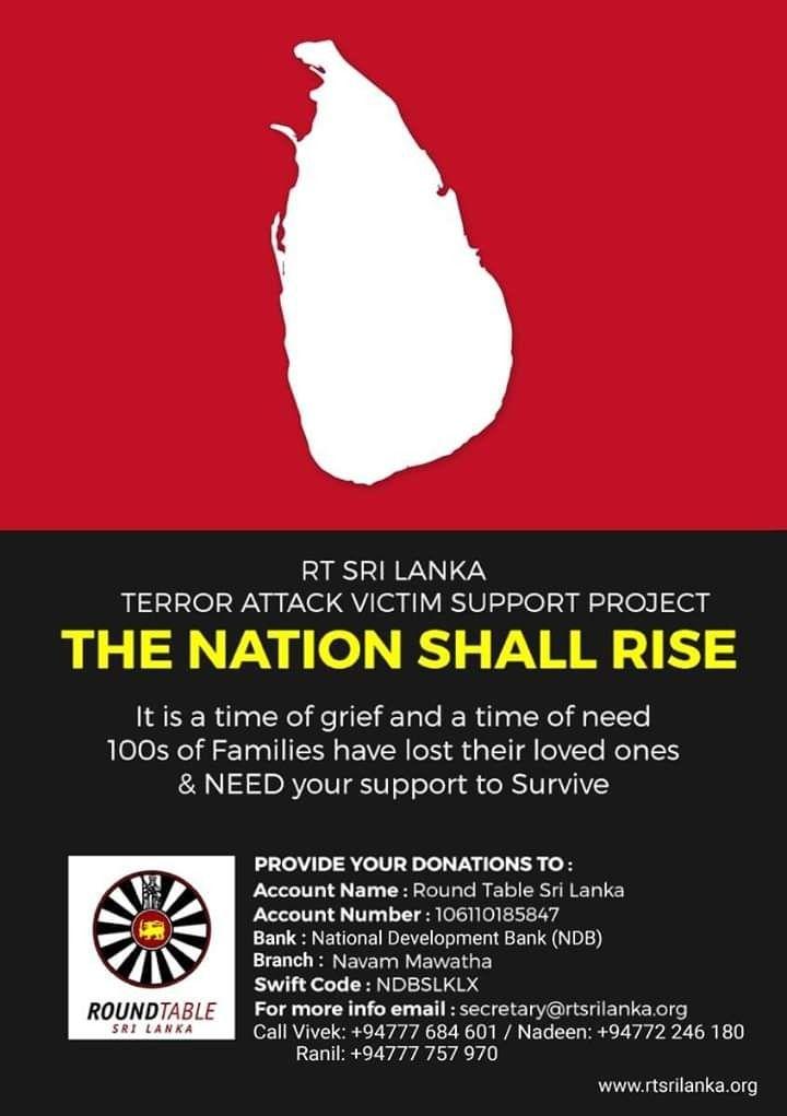 Sri Lanka - * 41 INTERNATIONAL * The Association of Ex-Round