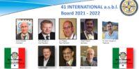 41 International Board Members 2021-2022