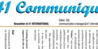 41 Communique October 2020 [Dr.V. Siddharthan (Sid)]