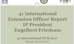 41 HYM 2017 – Extension Presentation IPP Engelbert Friedsam