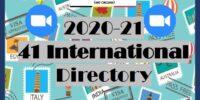 41 INTERNATIONAL DIRECTORY 2020/2021