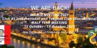41 INTERNATIONAL and TANGENT CLUB WORLD HALF YEAR MEETING in Verona